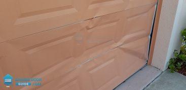 Garage Door Hit By Car