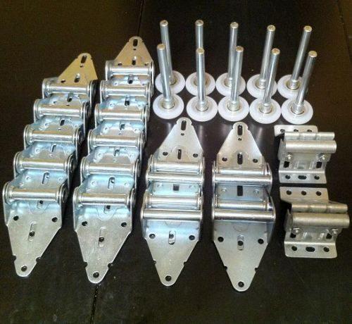 16x7 Garage Door Hardware Kit - 14 Gauge