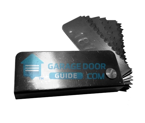 Spring Wire Gauge Tool Residential Garage Door Repair