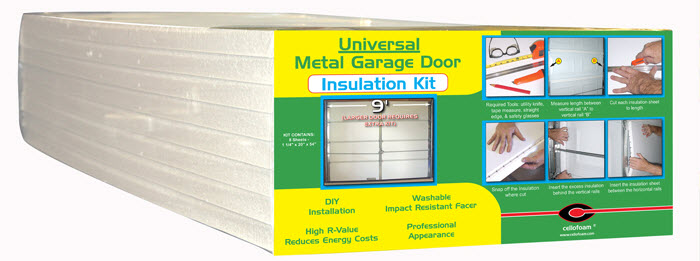 Cellofoam Garage Door Insulation Kit