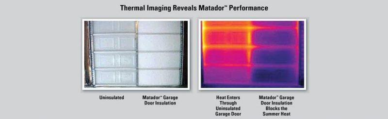 Matador Insulation Kit Thermal Image