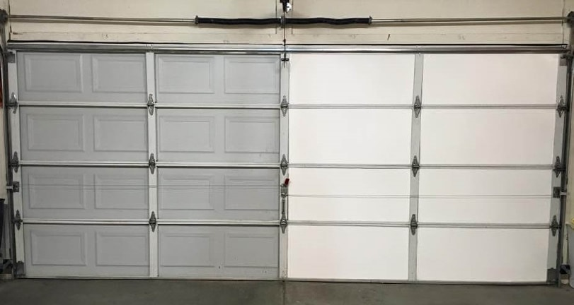 Garage Door Insulation Kit Foam Panels Vs Rolled Fiberglass