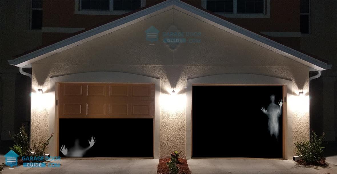 Garage Door Opens By Itself
